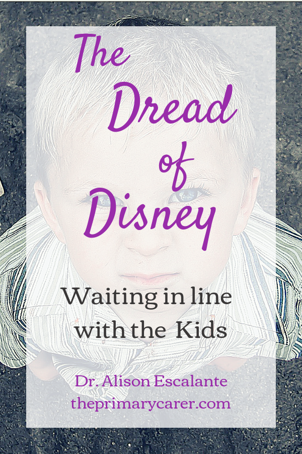 Waiting in Line with Kids is the worst. #disney #waiting #kids #parentingtips