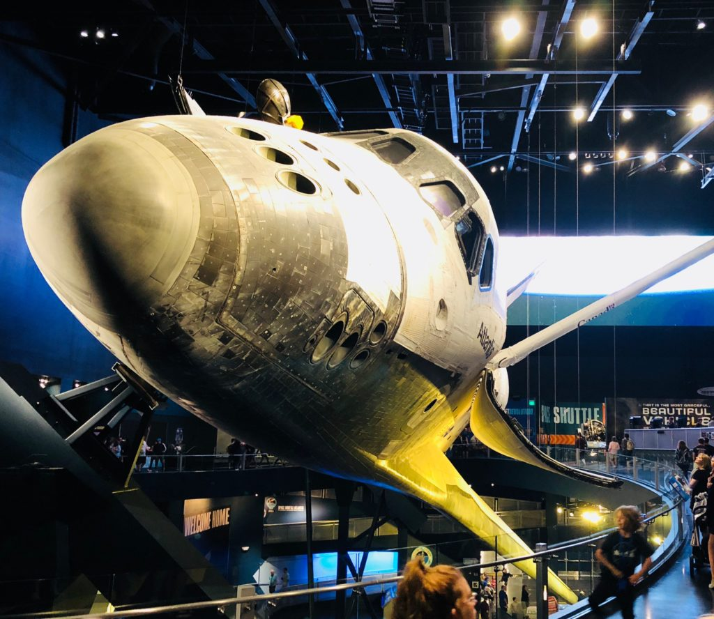 The Space Shuttle Atlantis at the Kennedy Space Center. ©Alison Escalante MD
