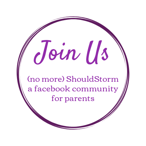 Join Us in the (no more) ShouldStorm facebook community for parents