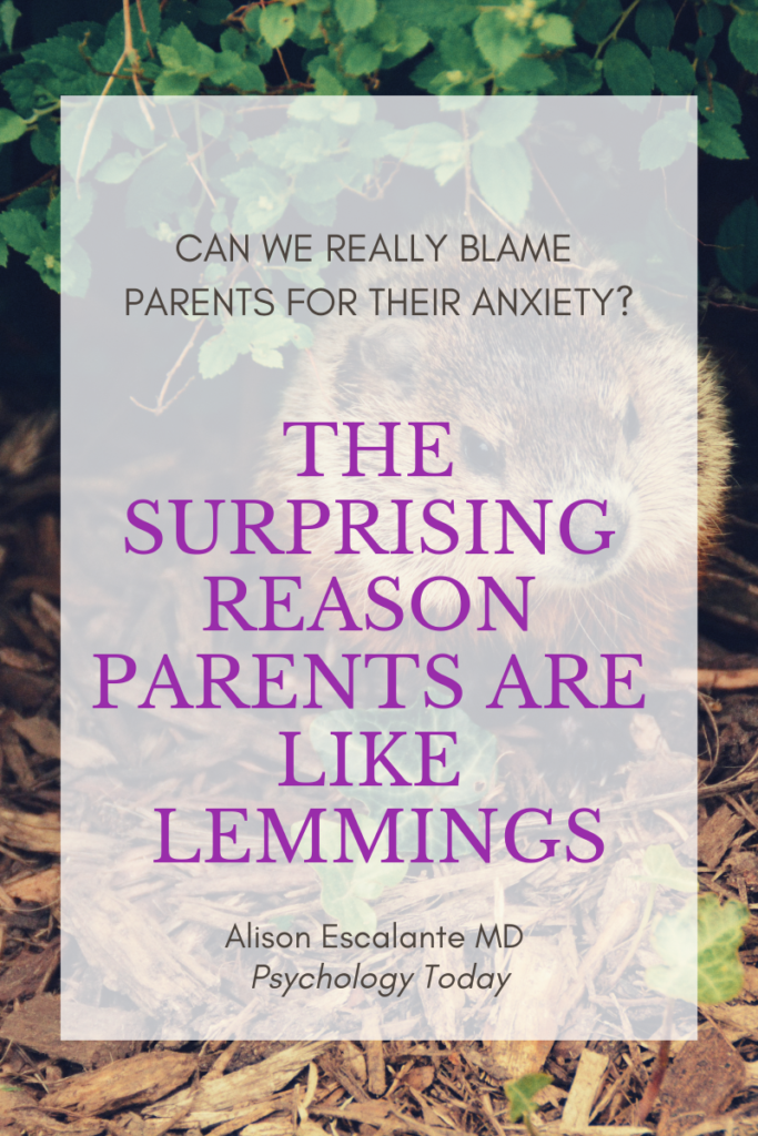 Pin for The Surprising Reason Parents are Like Lemmings.