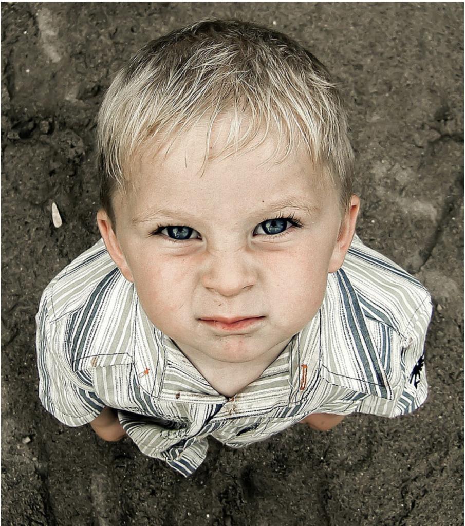 Scowling Boy from Alison Escalante MD