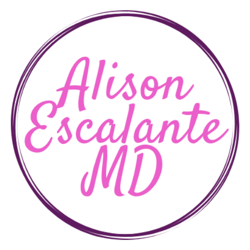 Alison Escalante MD is a pediatrician who wants to help parents out of the ShouldStorm. Worried parents raise worried kids and we can do something about that!