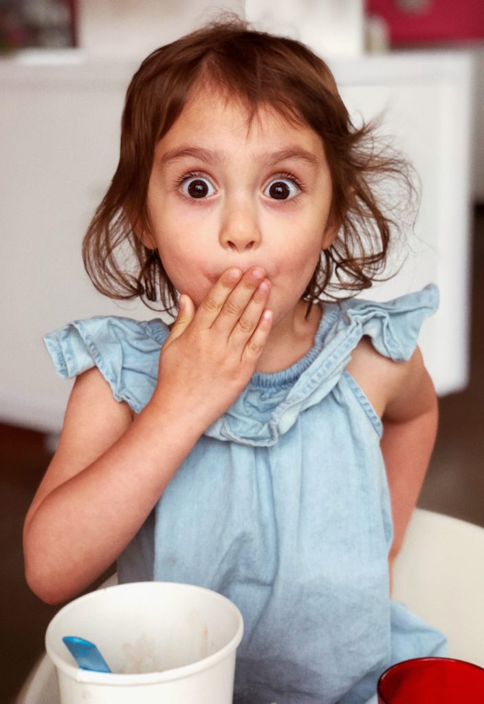 Surprised girl from Alison Escalante MD