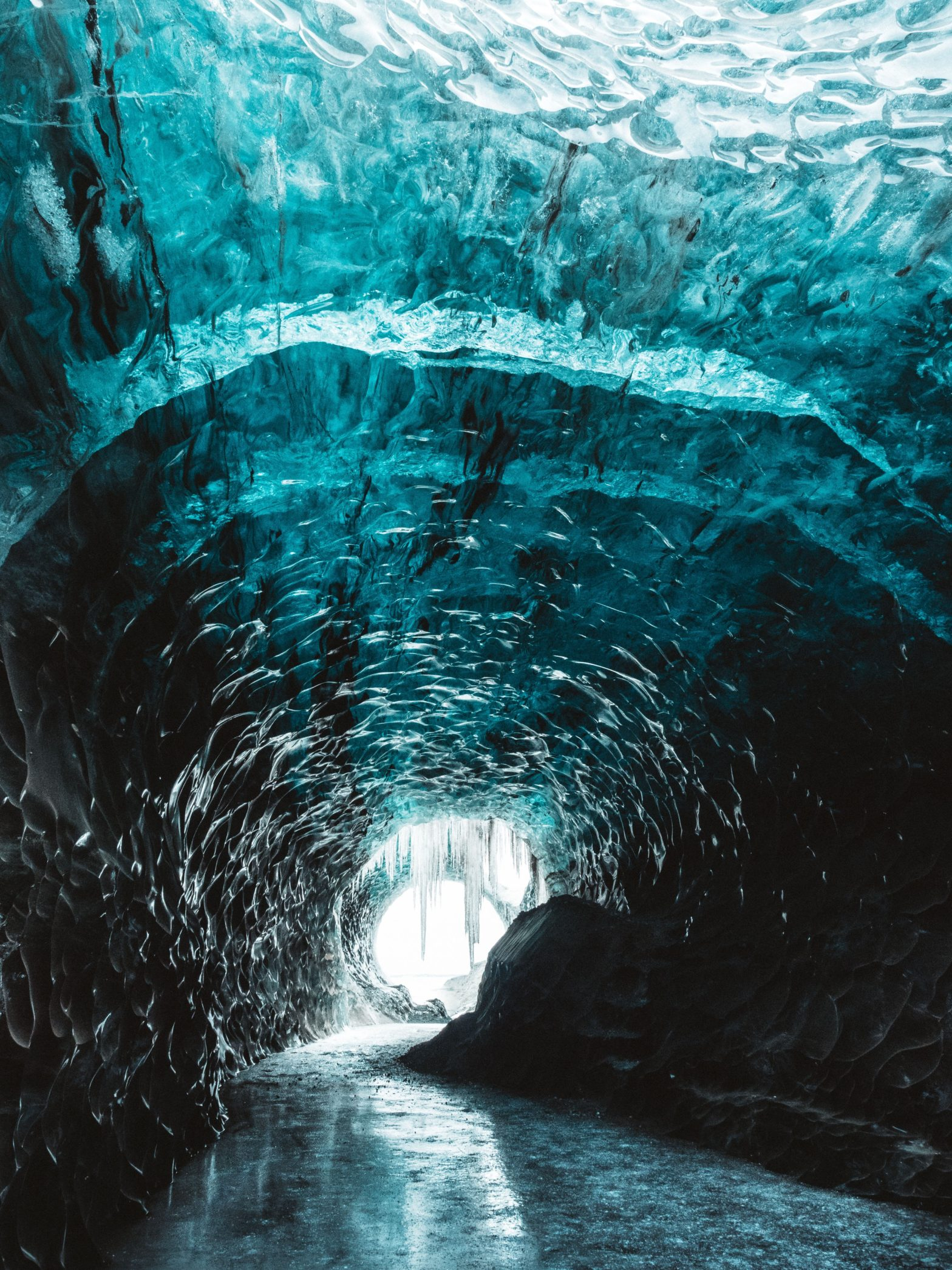 Beautiful Ice Cave