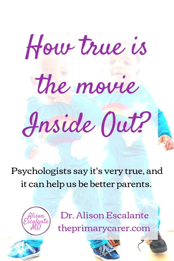 The Reality Behind Inside Out. Have you ever wondered what's going on inside your child's head? It turns out the movie Inside Out is true, or that's what one model of psychology teaches. #parentingtips #parentinghacks #childdevelopment #kids #insideout