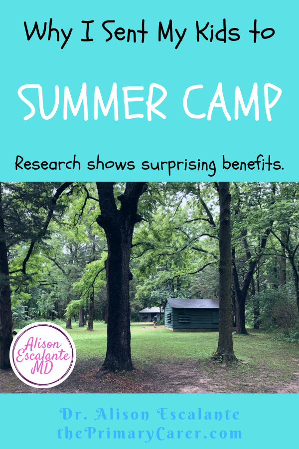 Why I sent my kids to summer camp. Why is summer camp important? Research shows that being away at camp helps kids build independence, friendship skills and self-confidence. #summercamp #parentingtips #parentinghacks #activitiesforkids