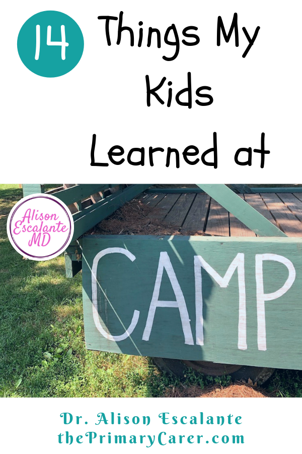 14 Things My Kids Learned at Camp. Summer camp can be a wonderful adventure for kids, and a growing experience for parents. My kids surprised me with the stories they told about summer camp. #summercamp #parentingtips #parentinghacks #activitiesforkids