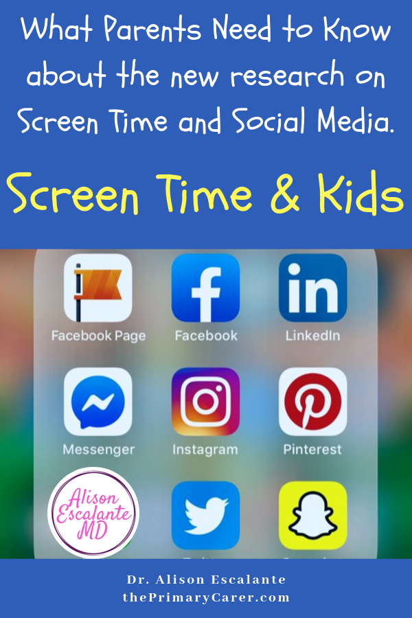 Screen Time Roundup: What Parents Need to Know about the New Research. #parentingtips #parentinghacks #screentime #ADHD