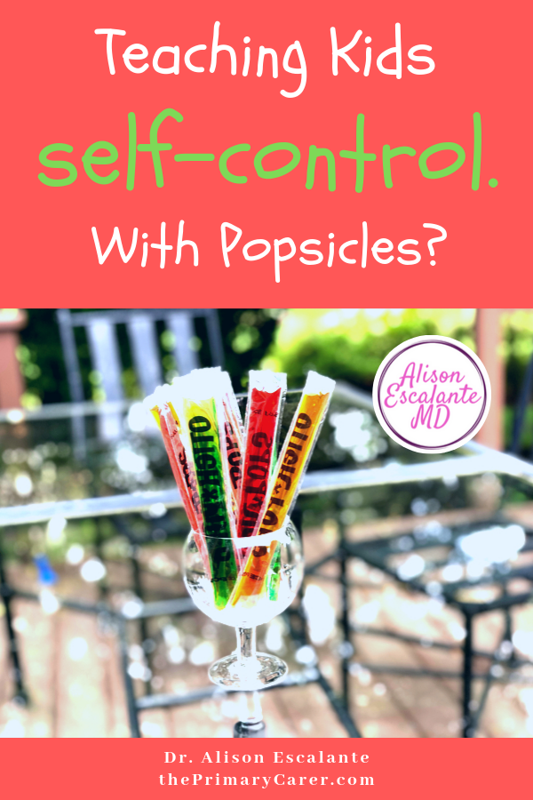 Teaching Kids Self Control with Otter Pops. How can we teach our kids self-control? #parentingtips #parentinghacks #effectiveparenting #parenting